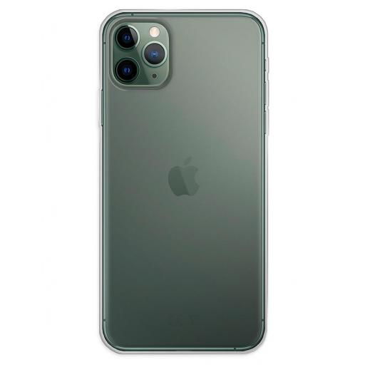 Apple iPhone 11 Pro Max Funda Silicona Transparente