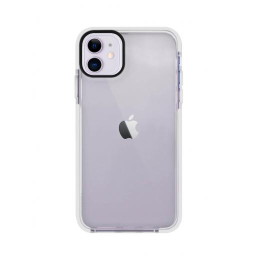 Apple iPhone 12 / 12 Pro Funda de Alto Impacto Blanco
