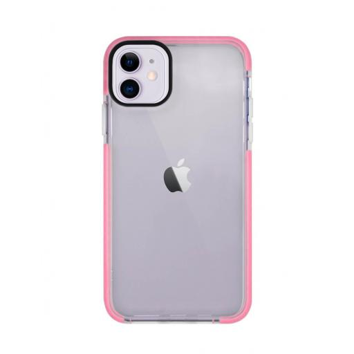 Apple iPhone 12 / 12 Pro Funda de Alto Impacto Rosa