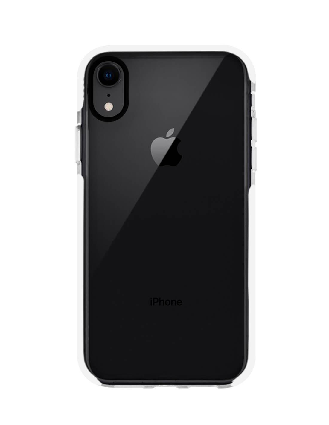 Apple iPhone XR Funda de Alto Impacto Blanco