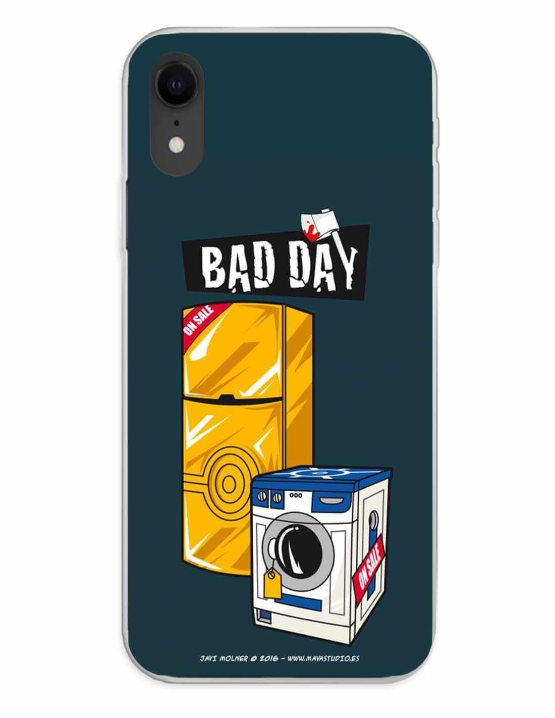 Apple iPhone XR Funda Silicona Bad Day Offer