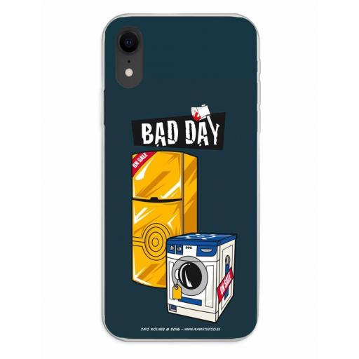 Apple iPhone XR Funda Silicona Bad Day Offer [0]
