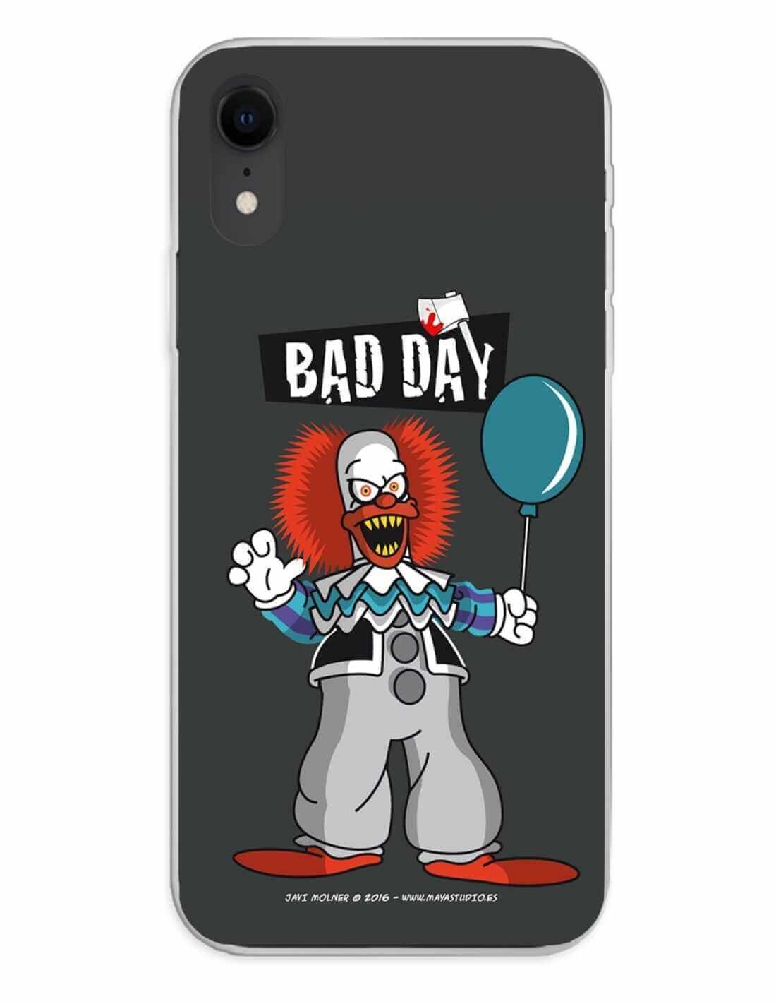 Apple iPhone XR Funda Silicona Bad Day Party