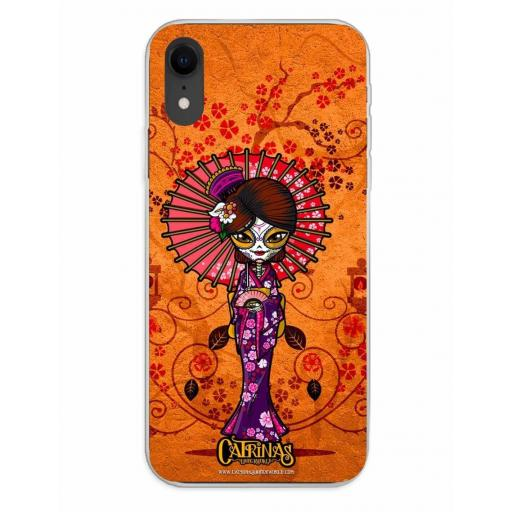 Apple iPhone XR Funda Silicona Catrinas Mariko