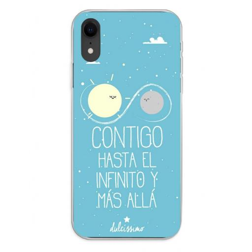Apple iPhone XR Funda Silicona Dulcissimo Hasta El Infinito