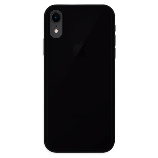 Apple iPhone XR Funda Silicona Negro