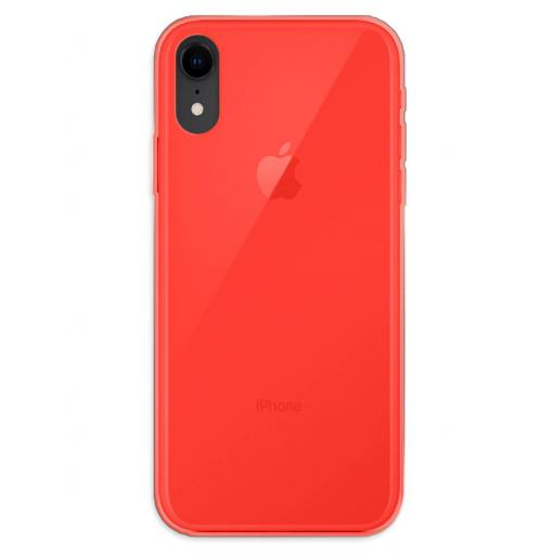 Apple iPhone XR Funda Silicona Rojo