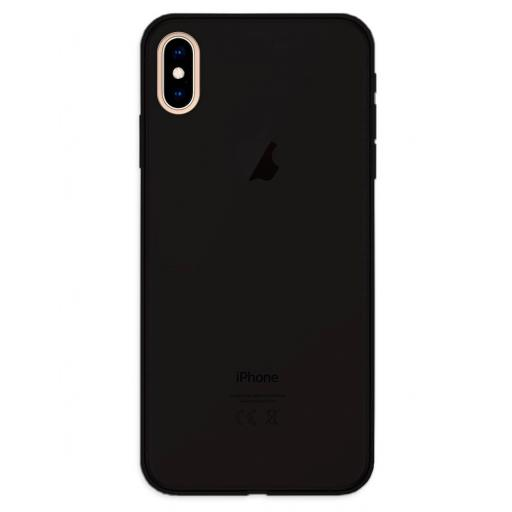 Apple iPhone XS Max Funda Silicona Negro