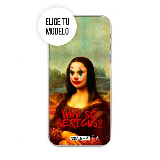 Funda Gel Silicona Actualizarte - Why So Serious? TCL 20L / 20L Plus / 20S / 20 5G
