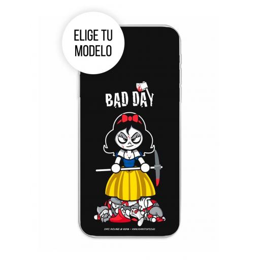 Funda Gel Silicona Bad Day - Deadly Apple TCL 20L / 20L Plus / 20S / 20 5G
