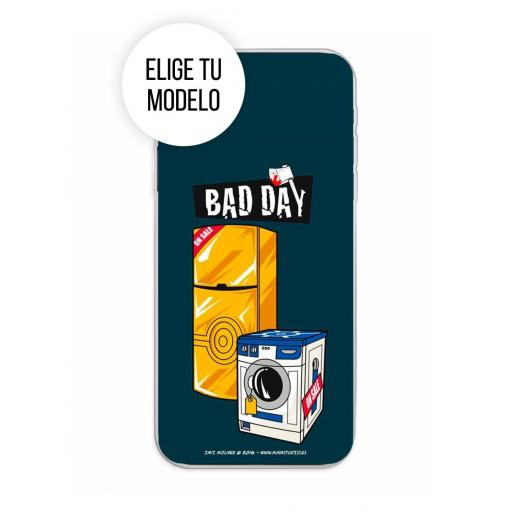 Funda Gel Silicona Bad Day - Offer TCL 20L / 20L Plus / 20S / 20 5G