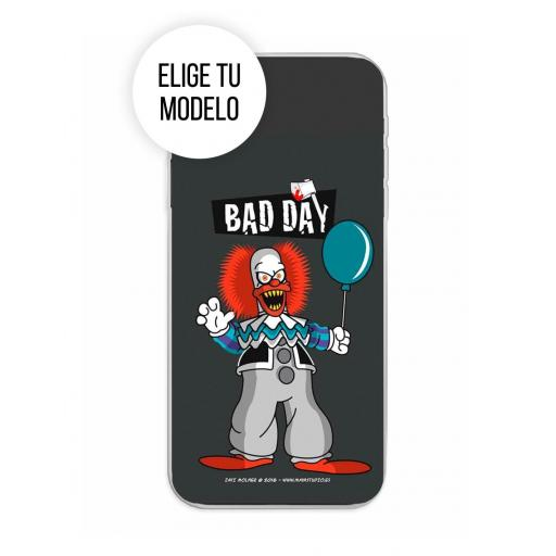 Funda Gel Silicona Bad Day - Party TCL 20L / 20L Plus / 20S / 20 5G