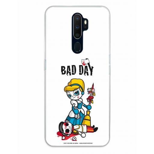Oppo A5 (2020) / A9 (2020) Funda Silicona Bad Day Fatal Blonde