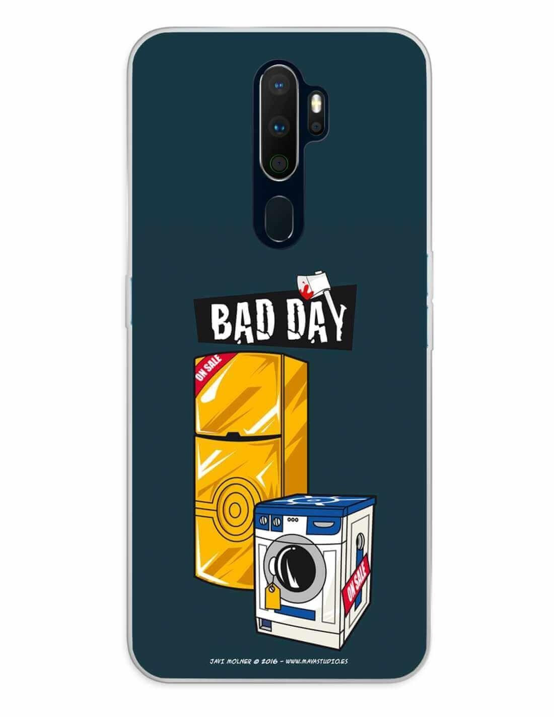 Oppo A5 (2020) / A9 (2020) Funda Silicona Bad Day Offer