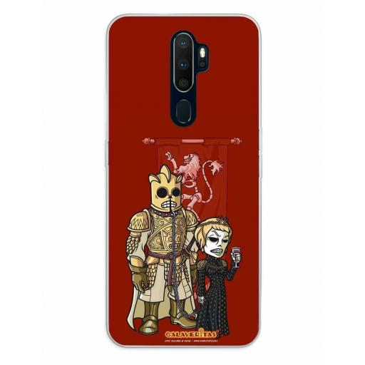 Oppo A5 (2020) / A9 (2020) Funda Silicona Calaveritas Lady Monster