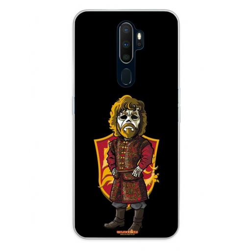 Oppo A5 (2020) / A9 (2020) Funda Silicona Calaveritas The King