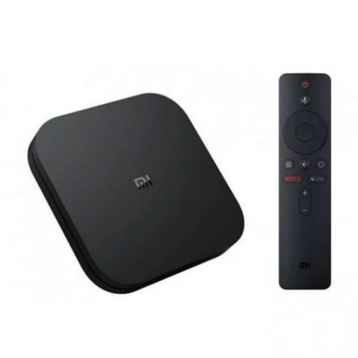 Android Tv Xiaomi Mi Tv Box 4K Negro