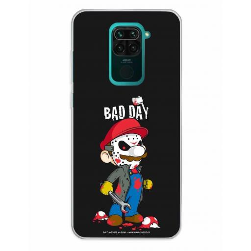 Xiaomi Redmi Note 9 Funda Silicona Bad Day Mushrooms