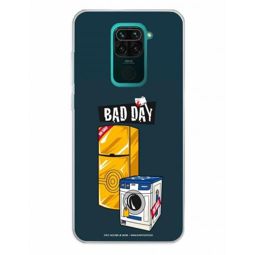 Xiaomi Redmi Note 9 Funda Silicona Bad Day Offer
