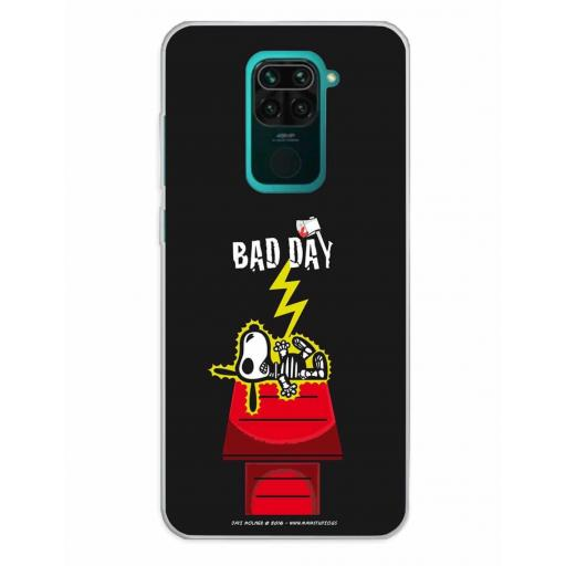 Xiaomi Redmi Note 9 Funda Silicona Bad Day Ray