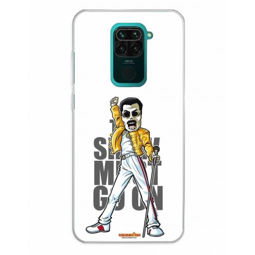 Xiaomi Redmi Note 9 Funda Silicona Calaveritas The Best 1