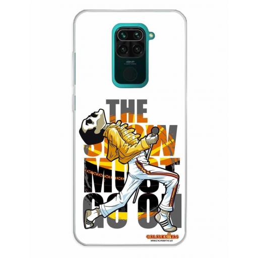 Xiaomi Redmi Note 9 Funda Silicona Calaveritas The Best 2