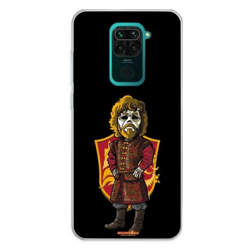 Xiaomi Redmi Note 9 Funda Silicona Calaveritas The King
