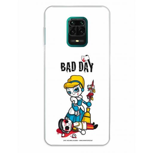 Xiaomi Redmi Note 9S / Redmi Note 9 Pro / Redmi Note 9 Pro Max Funda Silicona Bad Day Fatal Blonde