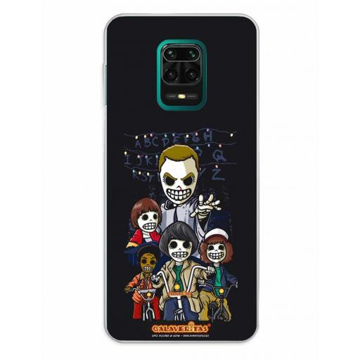 Xiaomi Redmi Note 9S / Redmi Note 9 Pro / Redmi Note 9 Pro Max Funda Silicona Calaveritas The Five