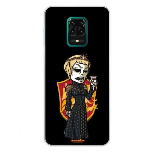 Xiaomi Redmi Note 9S / Redmi Note 9 Pro / Redmi Note 9 Pro Max Funda Silicona Calaveritas The Queen