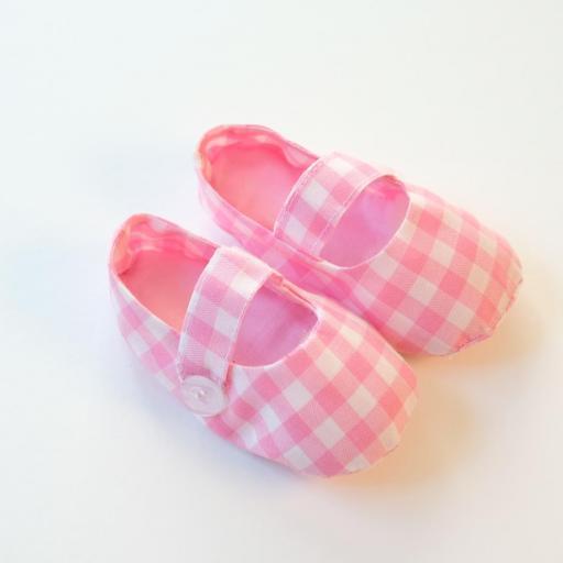 Chaussures bébé - Imprimé vichy