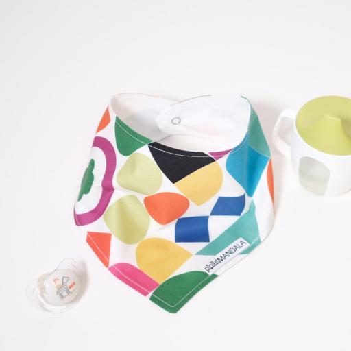 Bavoir Bandana - Multicolore