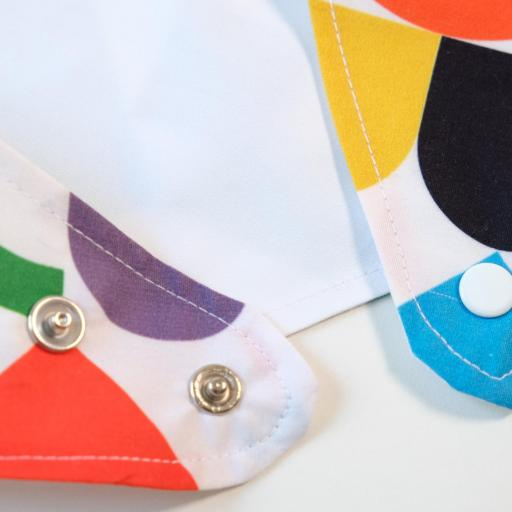 Bavoir Bandana - Multicolore [2]