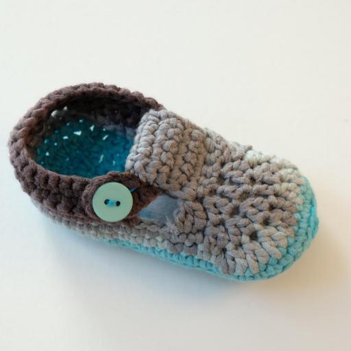 Chaussons au crochet - Alexandre   [2]