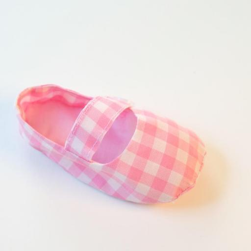 Chaussures bébé - Imprimé vichy [2]