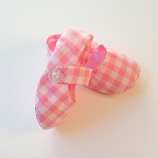 Chaussures bébé - Imprimé vichy [1]