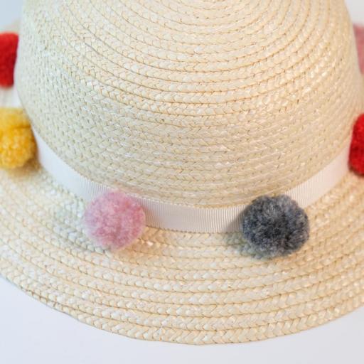 Chapeau de paille fille - Fabiola [1]