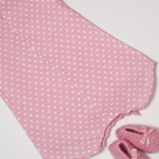 Ensemble bébé fille - Cœurs roses [2]