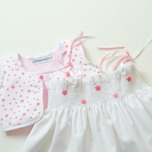Ensemble bébé fille  - Étoiles [1]