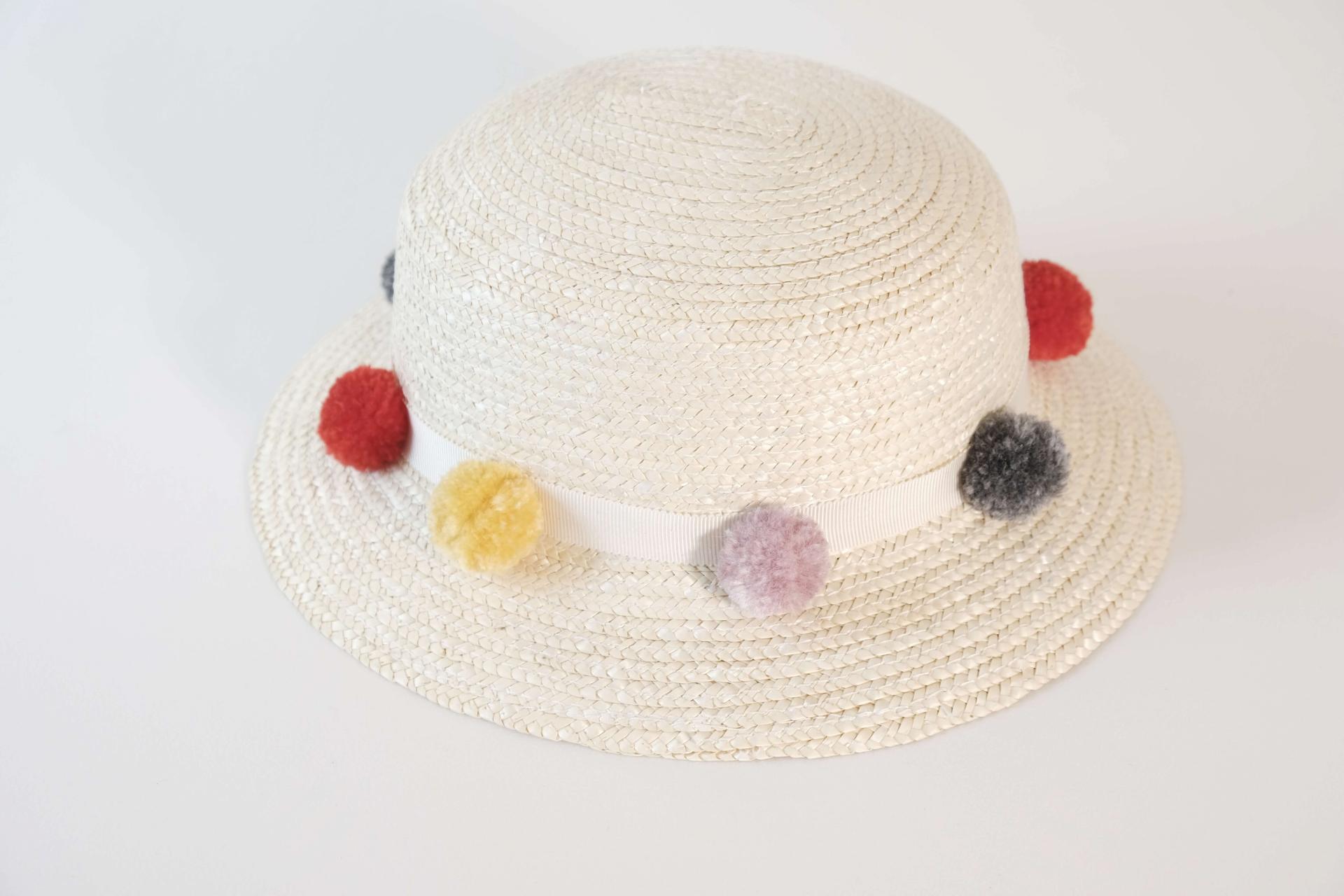 Chapeau de paille fille - Fabiola