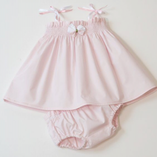 Ensemble bébé fille - Uni rose