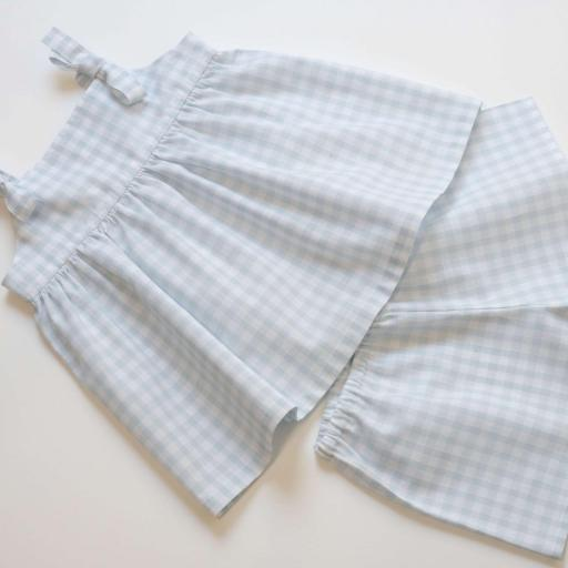 Pyjama Pyjashort fille - Gemma