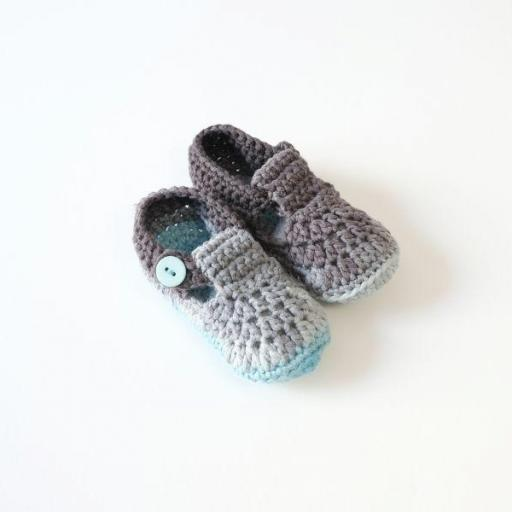 Chaussons au crochet - Alexandre