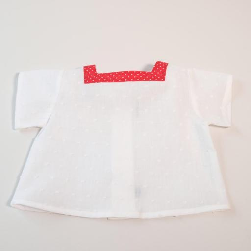 Ensemble bébé fille - Rouge et blanc [1]