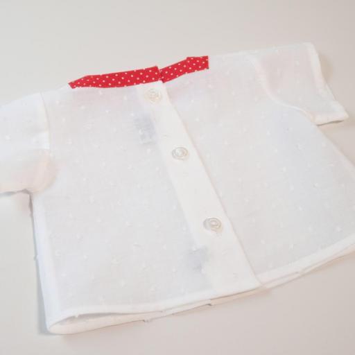 Ensemble bébé fille - Rouge et blanc [2]