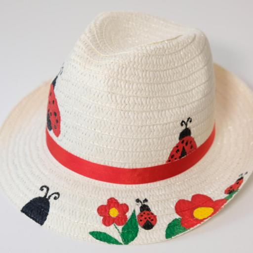 Chapeau de paille - Coccinelle [1]