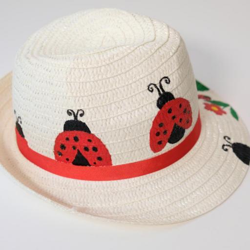 Chapeau de paille - Coccinelle [2]