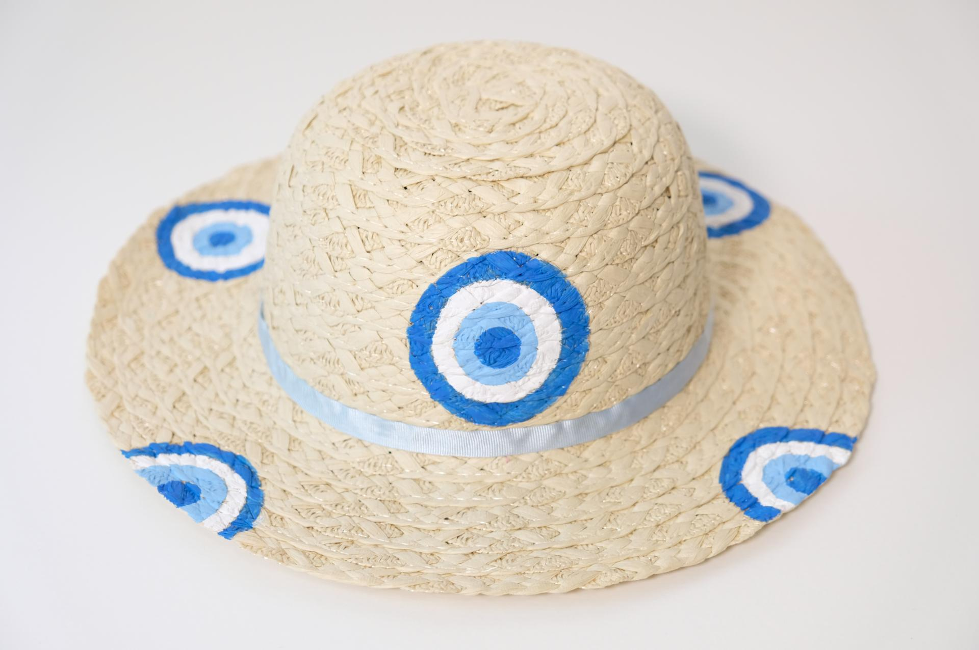 Chapeau de paille fille - Louna