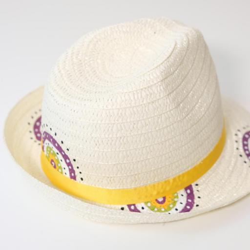 Chapeau de paille - Mandala [2]
