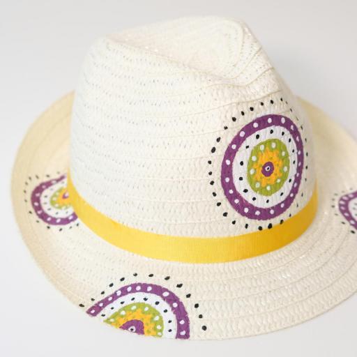 Chapeau de paille - Mandala [3]